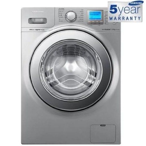 Samsung Automatic Washing Machine 12 KW Silver WF1124XAU