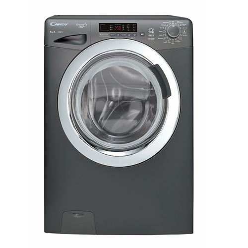 candy 8 kg Automatic Washing Machine Silver Color GVS128DC3R-EGY