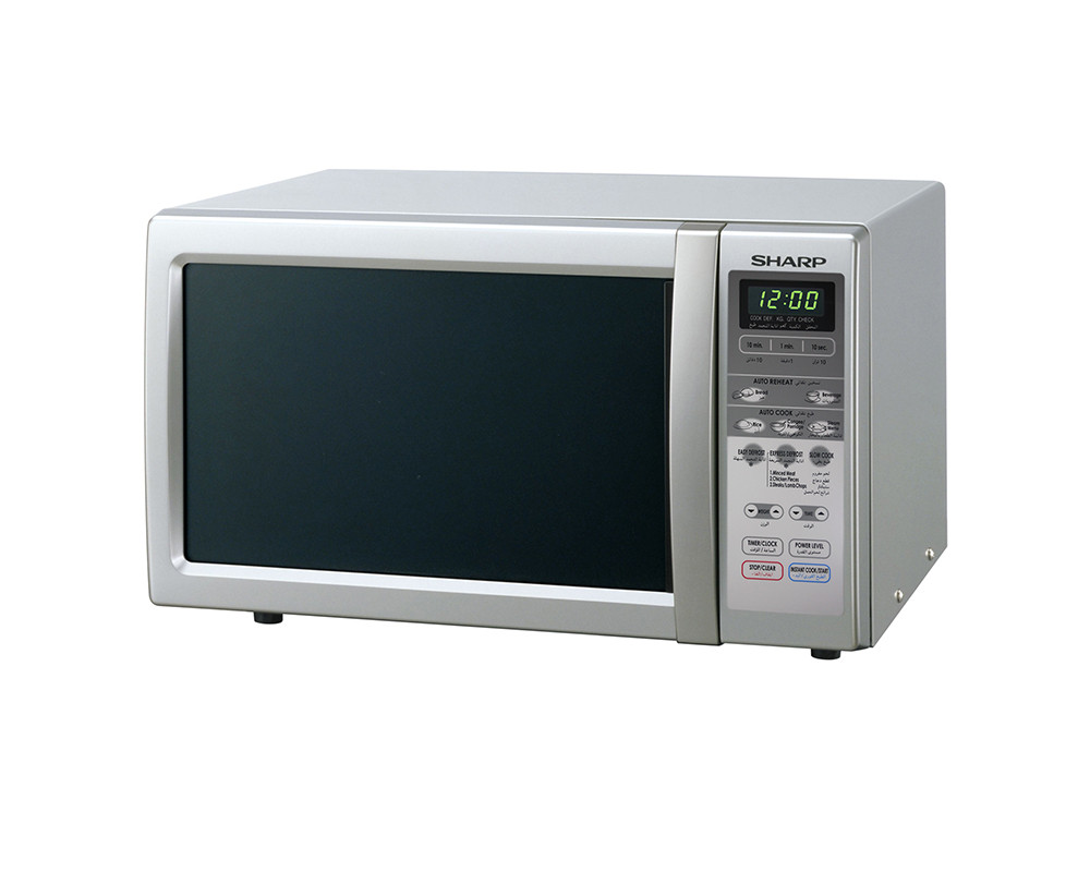 Microwave Sharp 22 Liter 800 W White Color R-241R (W)