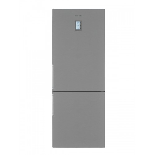 White Point Combi Refrigerator 20 ft 620 Liter Digital Nuvost Silver Color WPRC5661DX