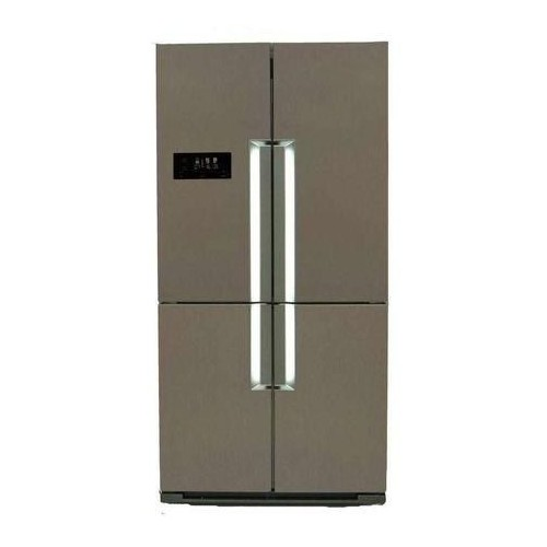 White Point Refrigerator 24 ft. 620 liter Side By Side Nofrust Silver Color WPR 916X