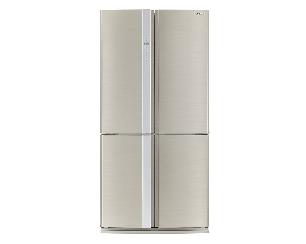 Sharp Refrigerator 605 Liter  4 Door Digital Nofost SJ-FP85V-SL