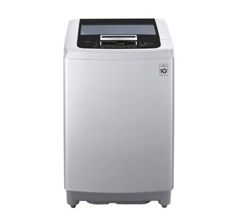 LG washing machine with a capacity of 13 kg above the engine engine color Silver T1369NEFFTF