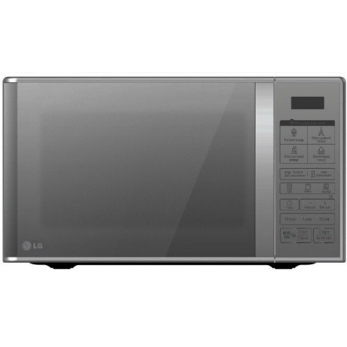 LG Microwave With Grill 30 Liter Silver Mirror MH7043BARS