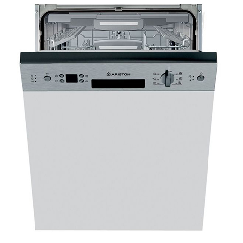 Ariston Built-in Dishwasher Stainless Steel, Silver - LLK 7S112 X EX
