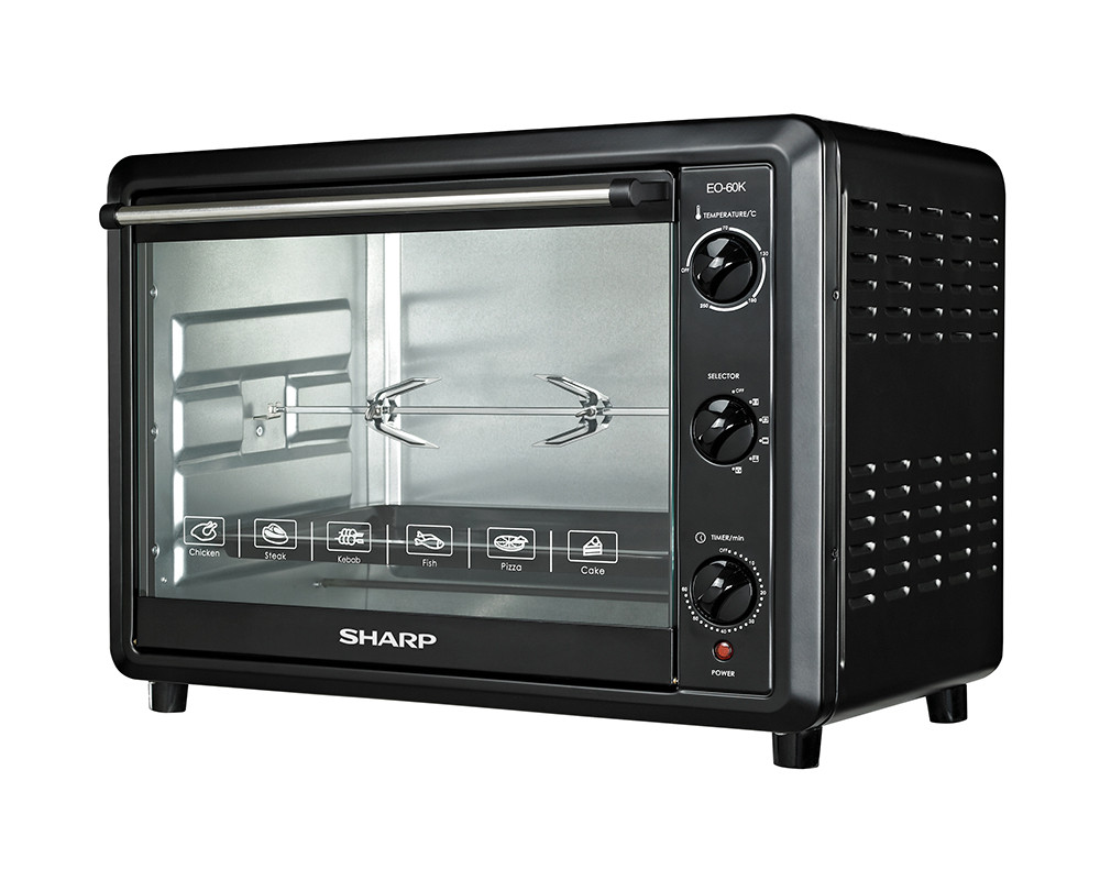 60 liter 2000 Watt Sharp Electric Oven with Fan & Fan EO-60K-2