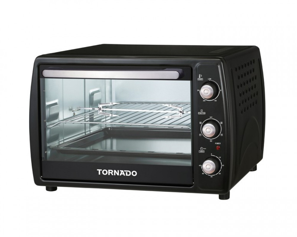 Tornado 1800-watt 45-liter electric oven with fan, fan and fan TEO-45RCL
