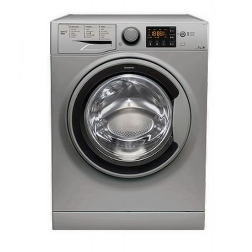 Ariston Digital Front Loading Washing Machine 7 kg - RSG 721 SS EX