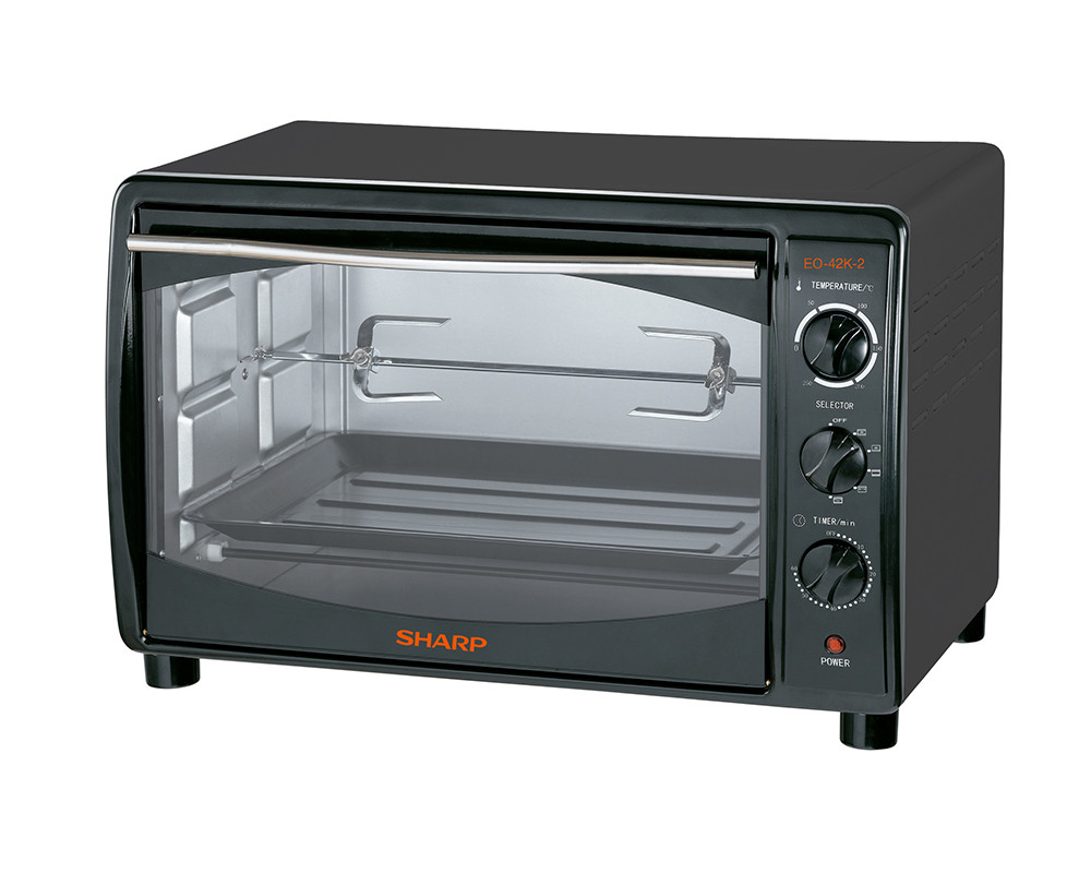 Sharp electric oven with a capacity of 42 liters 1800 watts with a fan & grill EO-42K-2