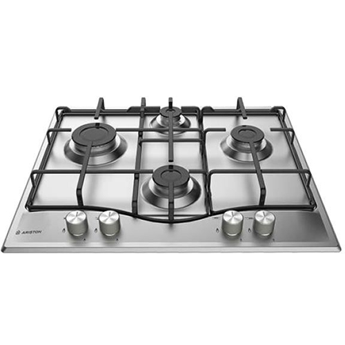 Built-in gas 60 cm from Ariston PCN 642 IX / A - Stainless steel