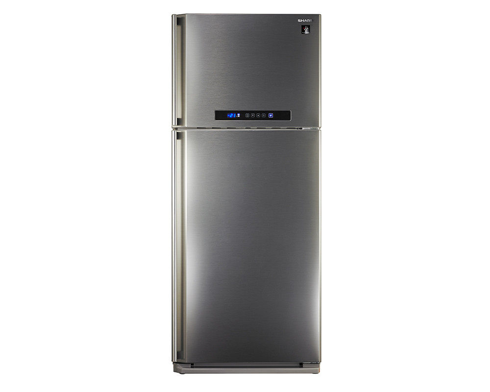 Sharp 450 Liter Refrigerator 2 Door Digital Nuvost with Plasma Cluster SJ-PC58AW