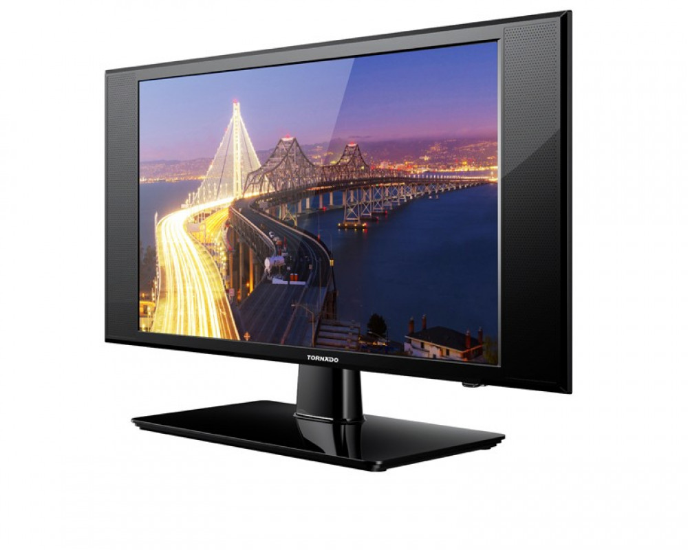 24-inch Tornado display with 2 HDMI inputs and 24ED1360 LED HD input