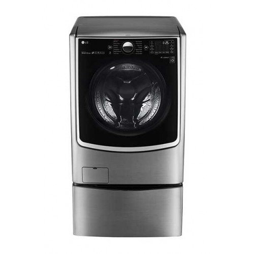 LG Twins Washing Machine 21KW Dryer 12K 1000 Steam Roll Stainless Steel FH0C9CDHK72