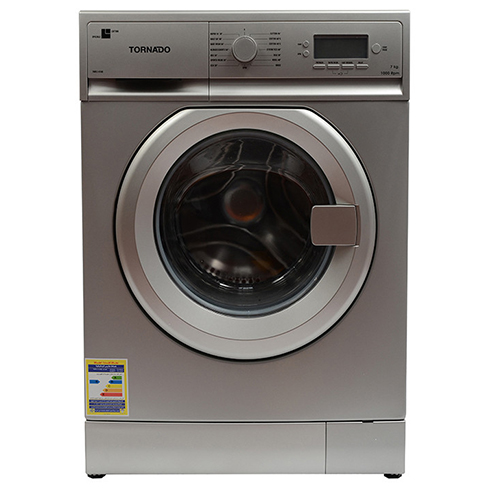 Tornado Washing Machine 7 Kg Automatic Color Silver 15 Program TWFL7-V10S