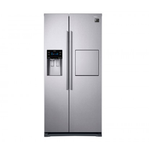 Samsung Refrigerator 533 liter Side By Side Digital Torch Silver Color RS53K4600