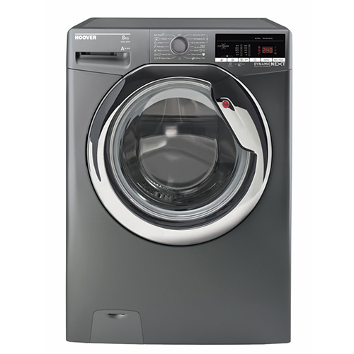 Hoover Washing Machine 8 Kg Automatic Color Silver DXOA38AC3R