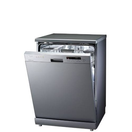 LG Dishwasher with a capacity of 14 individuals with ultraviolet radiation D1462CF TITANIUM