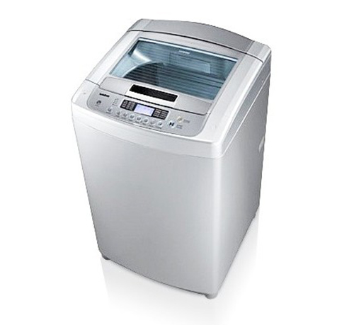 Washing machine LG 10.2 kg Top load white color T1007TEFT0
