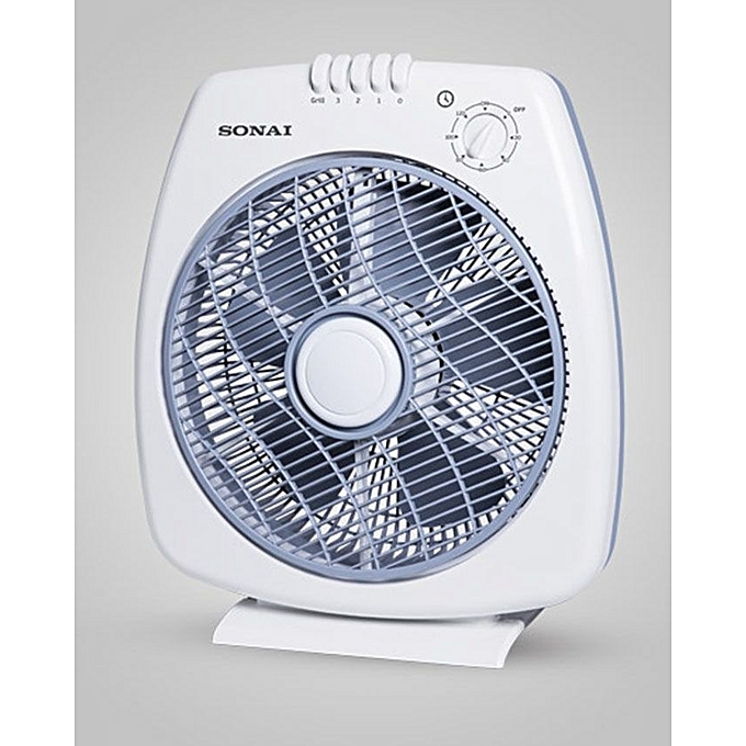 Sonai MAR-3012 Box Fan With Timer - 12 Inch