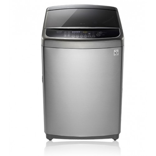 LG washing machine above automatic loading top 13 kg in heater stainless steel T1332HFFSP5