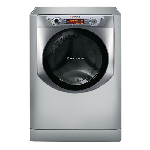 Digital Washing Machine Aqualtis 1600 Roll / Min 11 kg of Ariston AQ113D 697D X EX, Silver