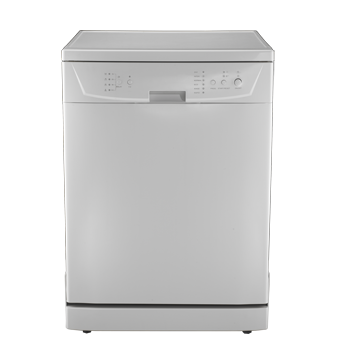 Dishwasher with multi-control digital control with DFL15-MRTSH-WH Universal Illumination Indicator