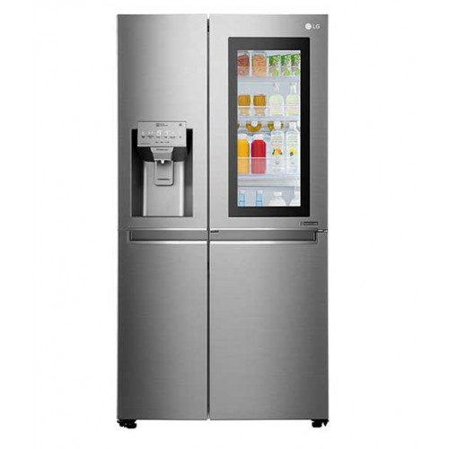 LG Refrigerator 24 ft 665 liter Taps and  Maker GC-X247CSBV