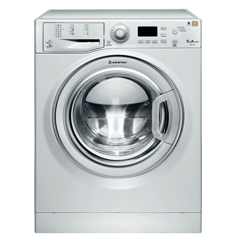 Digital washing machine 1400 lbs / min 9 kg of Ariston WMG 9437S EX, Silver