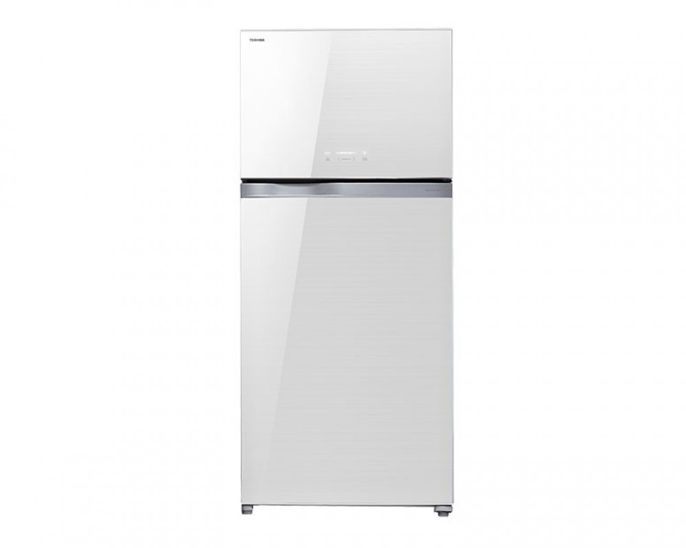 Toshiba 664-liter 2-door refrigerator with ZW control screen