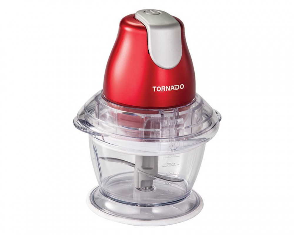 Tornado Kubba for slicing vegetables, cheese & meat chop 400 watts with a capacity of 1 liter CH-400MR