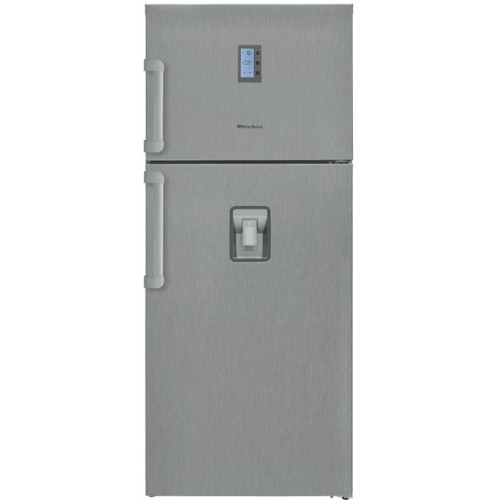 White Point Refrigerator 24 feet Nufrost Digital Tone Silver Color WPR640DWDB