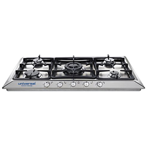 Universal Gas Burner BHV-5090-50ST Stainless Steel