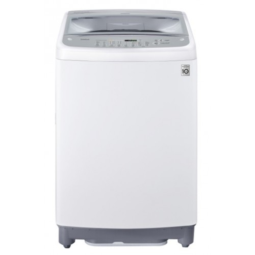 LG washing machine with a capacity of 13.2 kg above the automatic engine inverter white color T1366NEFT
