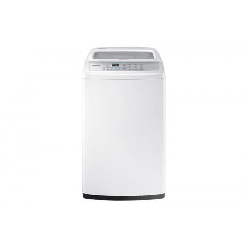 Samsung washing machine top load 9 kg white color WA90H4200SW / AS