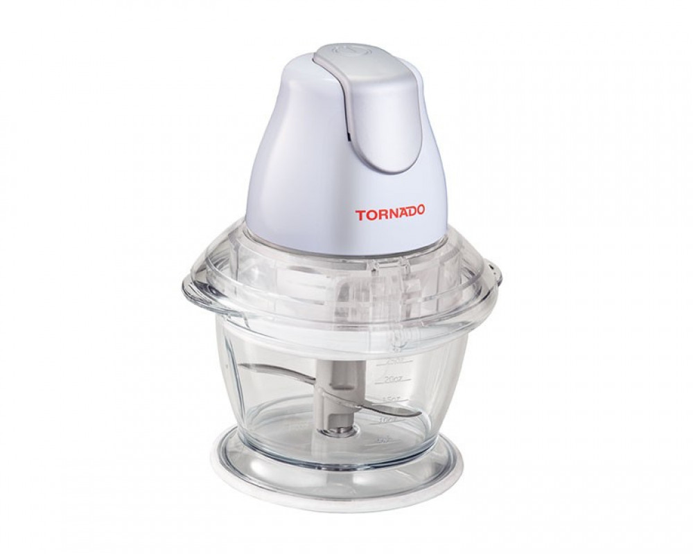 Tornado Kubba 400 Watts with a capacity of 1 liter for slicing Molochia and cheese & meat chop CH-400M