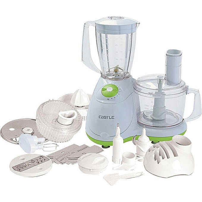 Castle Fp1037 Stainless Steel Food Processor - 1000W