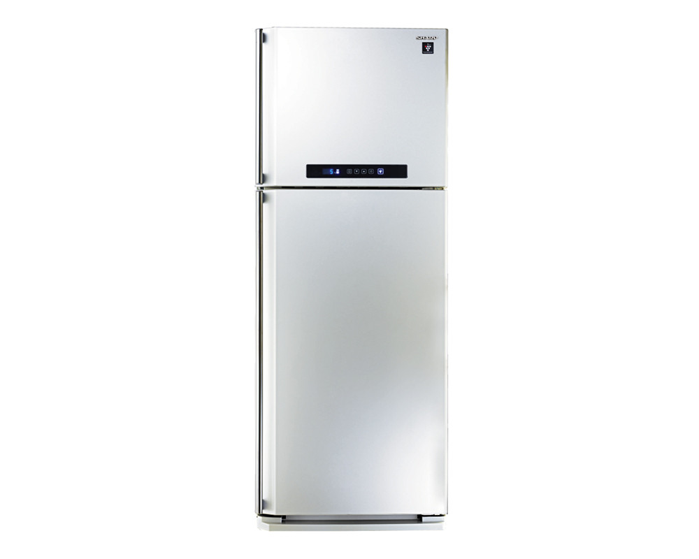 Refrigerator 384 liter Sharp 2 Door Digital Nufrost with Plasma Cluster SJ-PC48A (W)