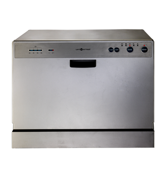 Dishwasher with multiple washing programs Digital control with indicator light Universal DCS7-MTSH-SG