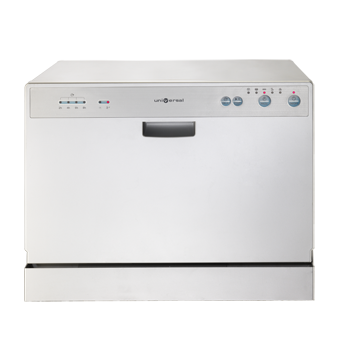 Dish washing machine with multi-wash and digital control with DCS7-MTSH-WH universal illumination indicator