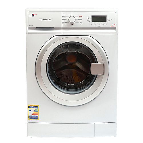Tornado Washing Machine 8 Kg Automatic White Color TWFL8-V12WS