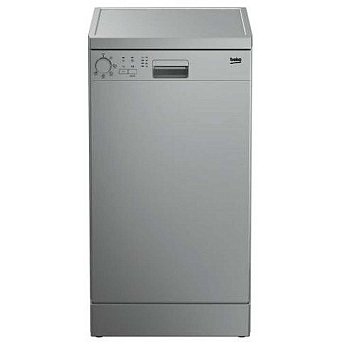 Beko Dfs05010S Dishwasher - Silver - 10 Persons