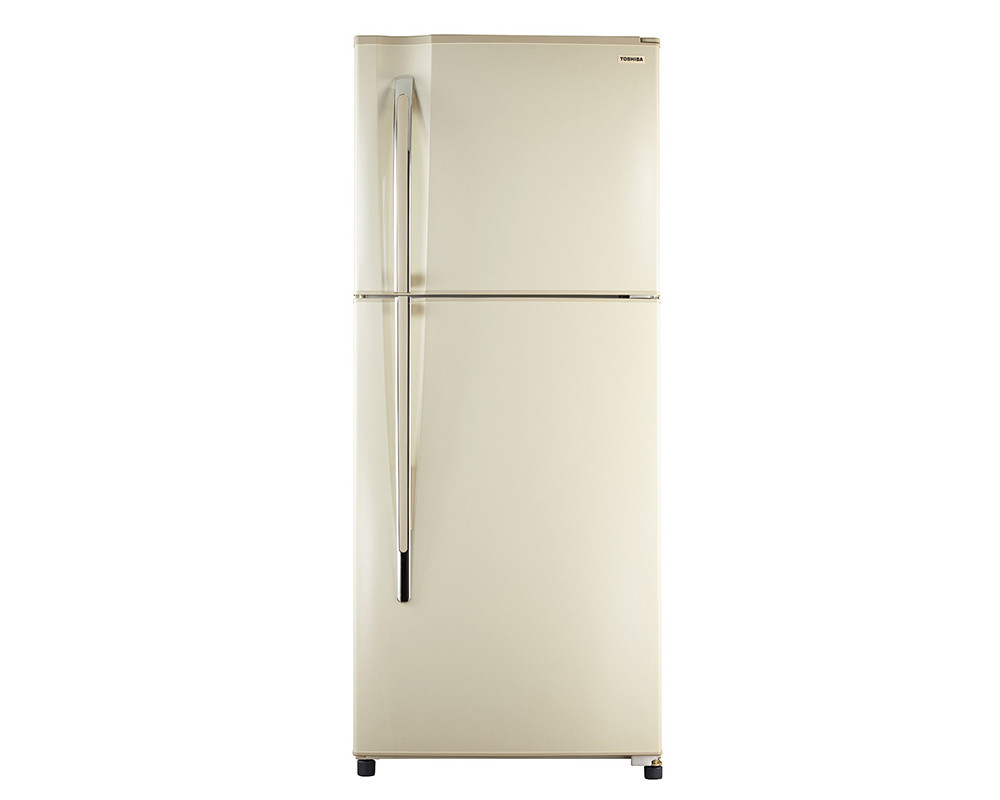 Toshiba 335-liter, 2-door, long-sleeved refrigerator, gold-plated & plasma-mounted GR-EF40P-H-G