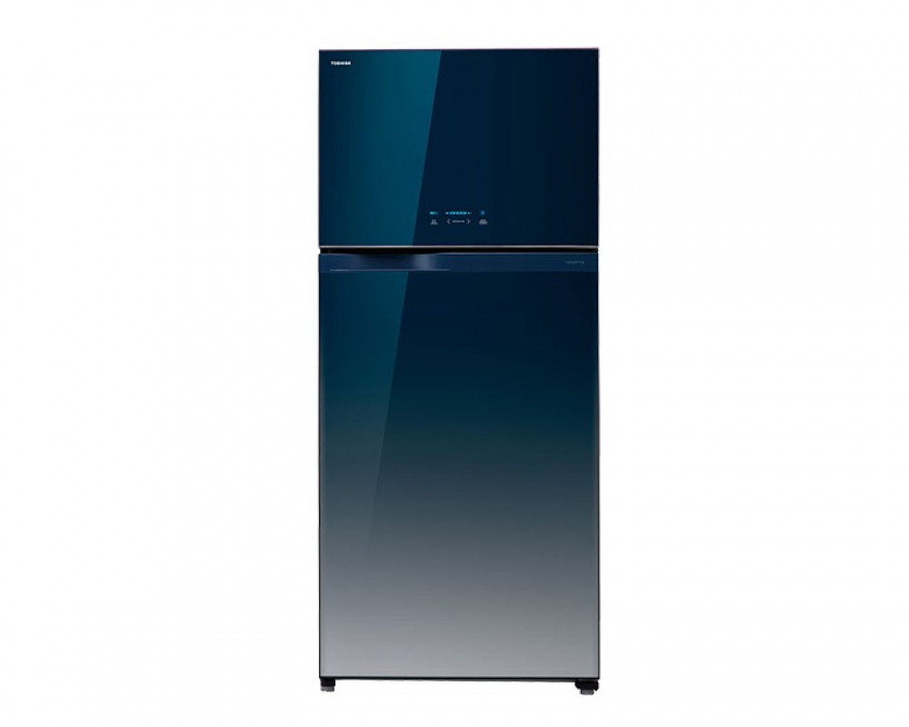 Toshiba 601 Liter Inverter Refrigerator 2 Glass Door with Gr-WG69UDZ-EGG Control Panel