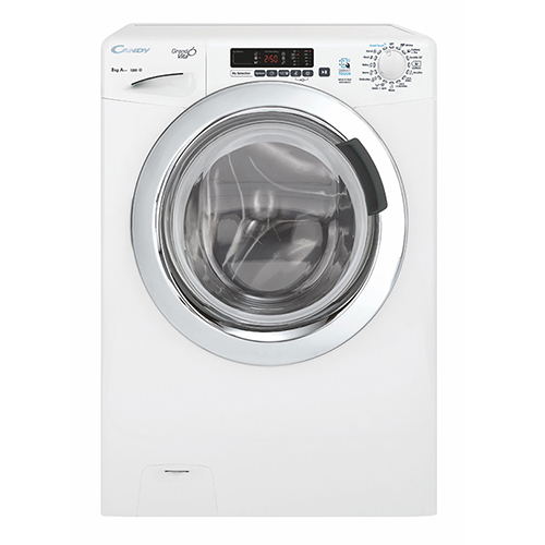 candy 8kg Automatic Washing Machine White Color GVS128DC3-EGY