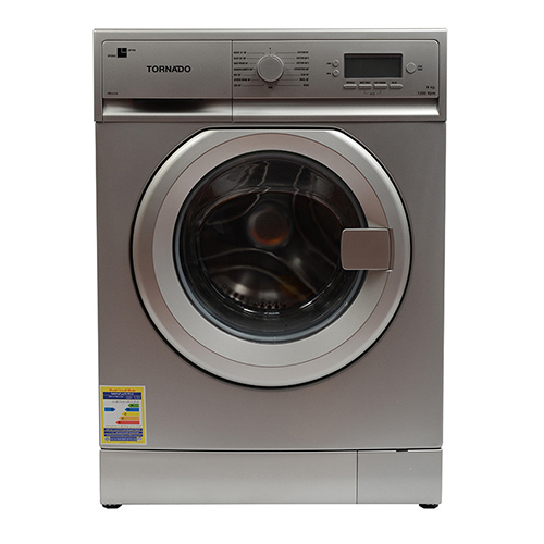Torrento Washing Machine 8 Kg Automatic 15 Program Color Silver TWFL8-V12S