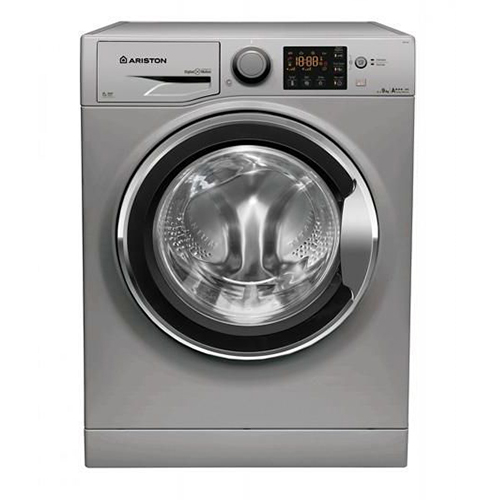Ariston Digital Front Load Washing Machine 9kg - RPG 9447 SX EX, Silver
