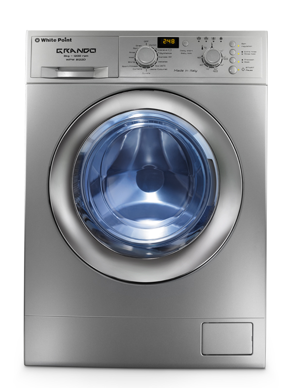 White Point Washing Machine WPW 8122 DS