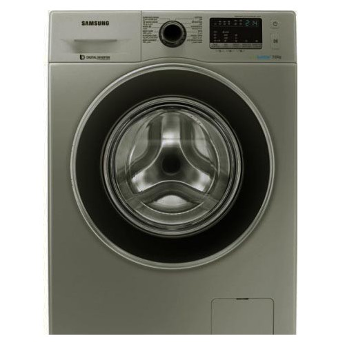 Samsung washing machine 7 kilo 1400 roll color Silver Echo Babylon and Diamond suit WF70F5EHW4X
